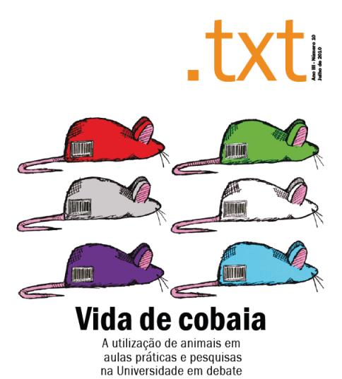 capa da revista. ilustração de Rafael Balbueno.