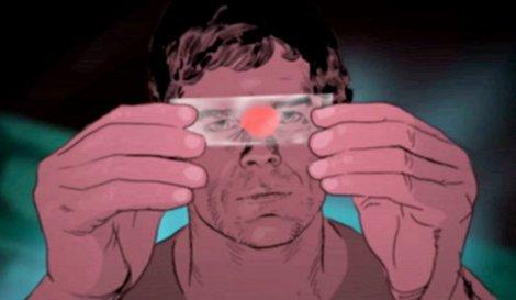 Imagem retirada da websérie Dexter Early Cuts.